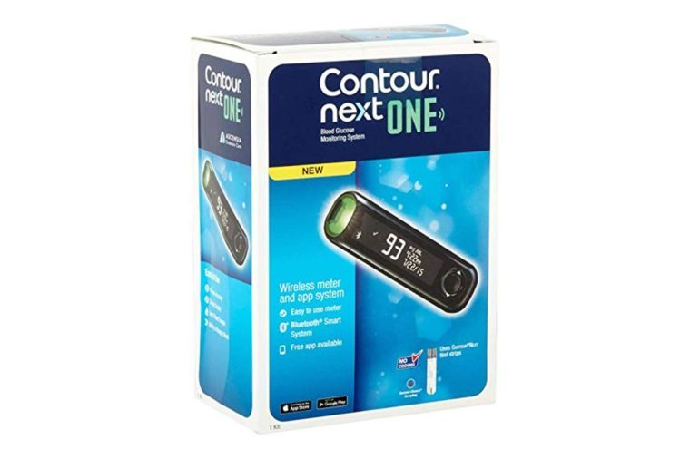 Contour Next ONE Blood Glucose Monitoring System KIT With 10 Strips