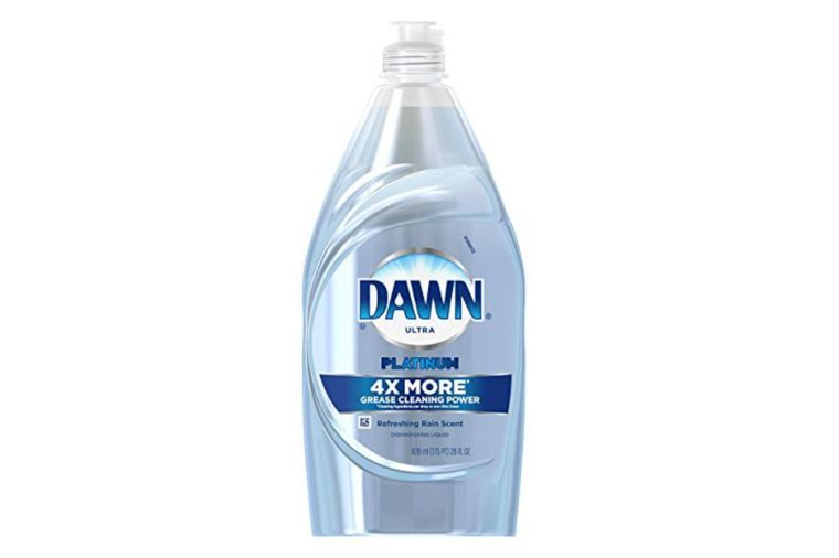 Dawn Platinum Power Clean Dishwashing Liquid Dish Soap, Refreshing Rain, 28 oz