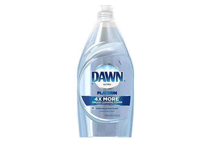 Dawn Platinum Power Clean Dishwashing Liquid Dish Soap, Refreshing Rain, 28 oz