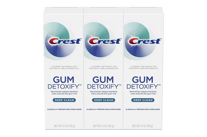 Crest Toothpaste Gum Detoxify Deep Clean, 4.1oz (Pack of 3)