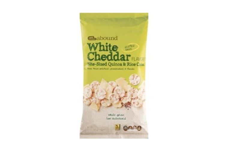 Gold Emblem Abound Bite-Sized Quinoa, White Cheddar, 3.5 OZ