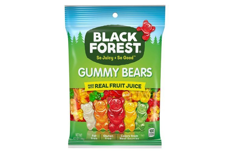 Black Forest Gummy Bears Candy, 4.5 Ounce Bag, Pack of 12