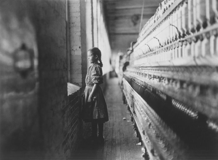 Young Girl Working in Mill, Lincolnton