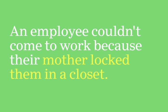 mother locked them in a closet