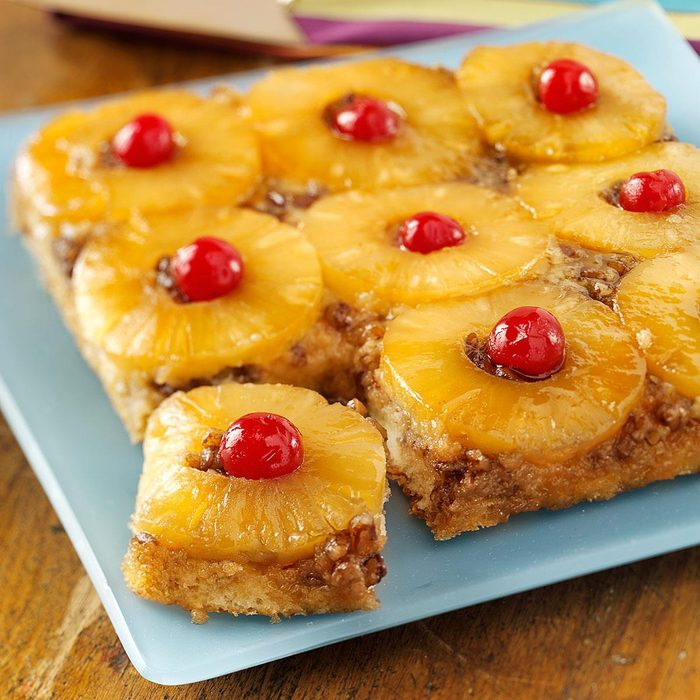 1943: Pineapple Upside-Down Cake