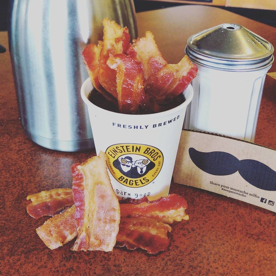 einstein bros bagels bacon