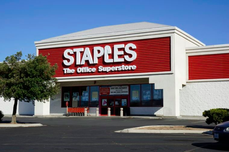 staples office store