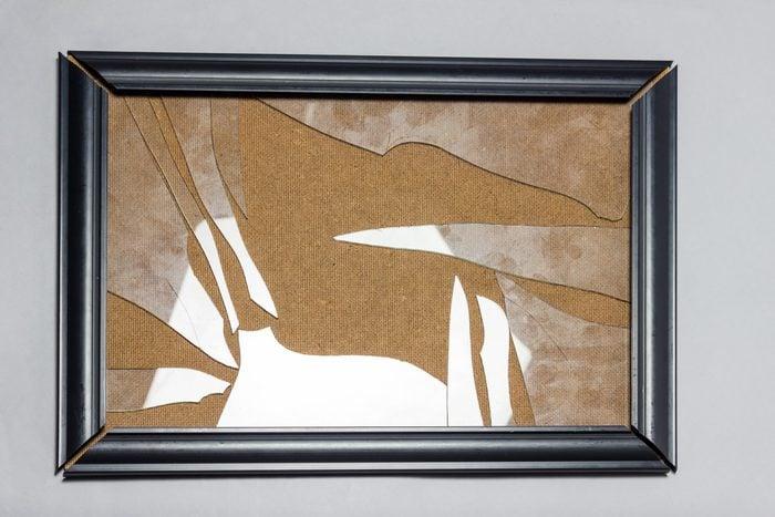 broken photo frame