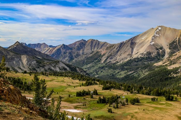 White Cloud Wilderness near Sun Valley, Idaho