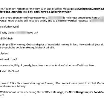 12 Hilarious Out-of-Office Emails That Will Crack You Up