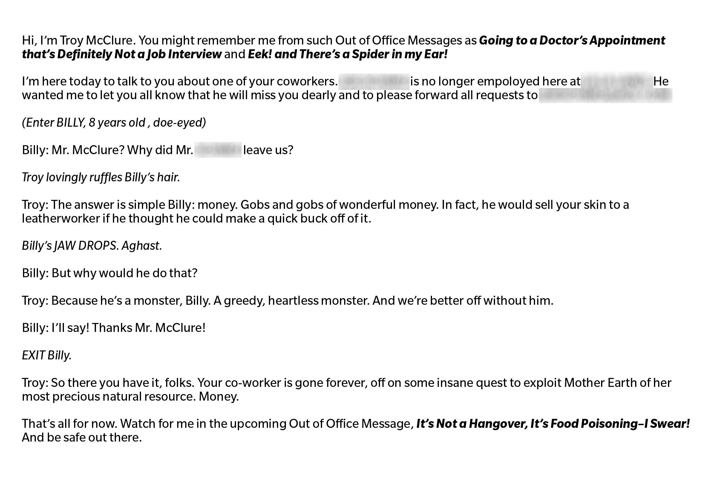 Hilarious Out-of-Office Emails That Will Crack You Up
