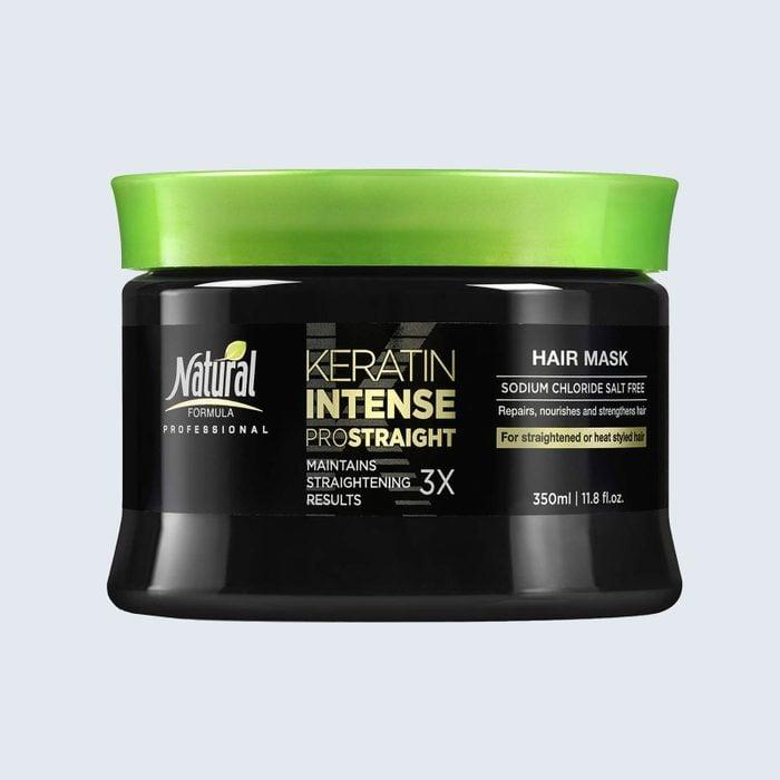 Natural Formula Keratin Intense ProStraight Hair Mask