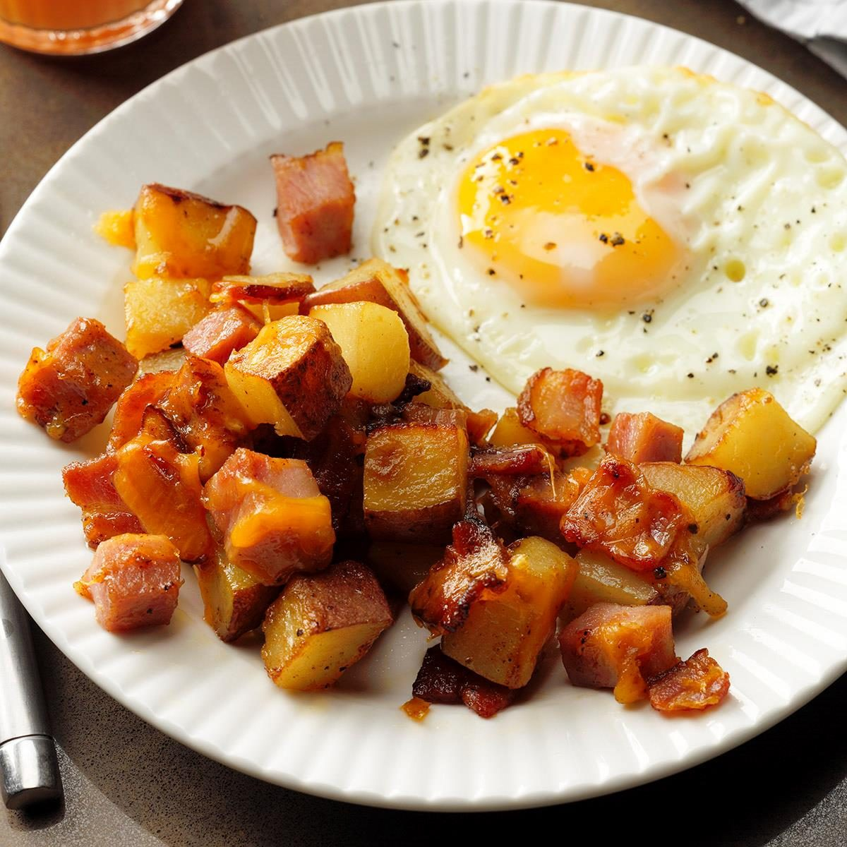 Loaded breakfast potatoes