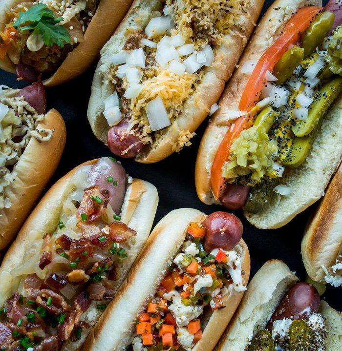 Minnesota hot dog