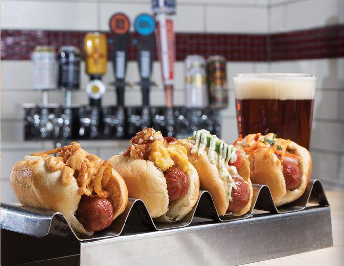 New Mexico hot dog