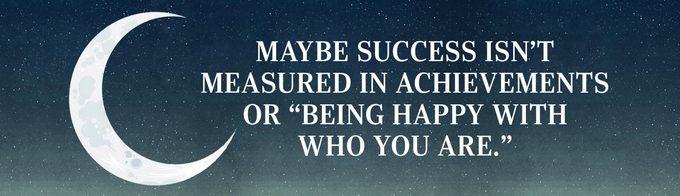 The true feeling of success
