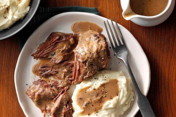 Roast Beef and Brown Gravy