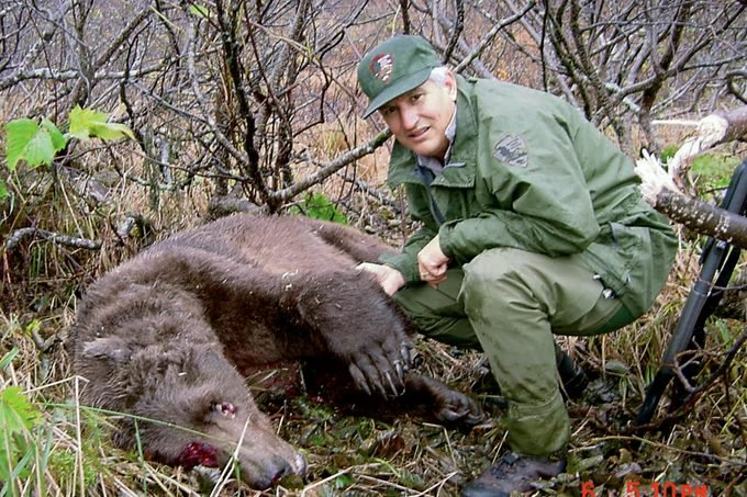 Bear 141, less than two hours after he was killed.