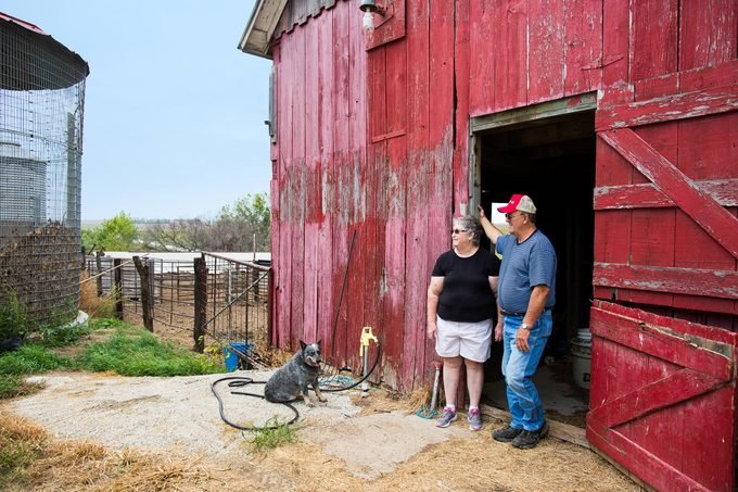 Joyce and John Blaske had to sell most of their farmland. But they aren't giving up.