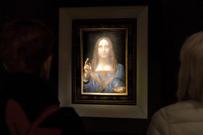 Auction Preview of Leonardo da Vinci Painting Salvator Mundi, New York, USA - 15 Nov 2017