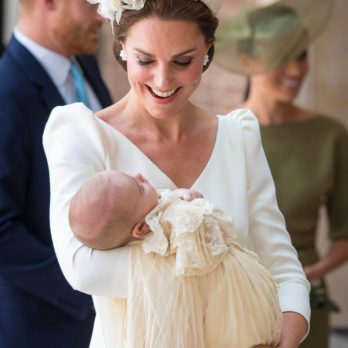 The Detail You Probably Didn't Notice About Prince Louis's Christening Gown