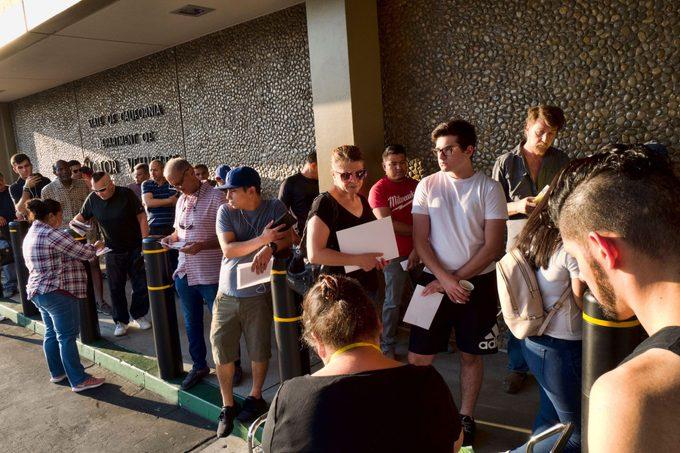 California DMV Wait Times