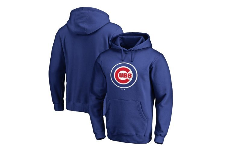 Chicago Cubs Fanatics Branded Team Wordmark Pullover Hoodie - Royal