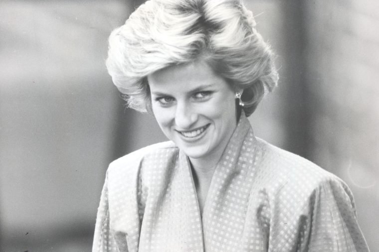 Diana Princess Of Wales - 8th October 1985 The Princess Of Wales Visits St. Giles' Hospital 'drug Dependency' Unit Today.....royalty Princess Diana Of Wales (died 31/8/1997)