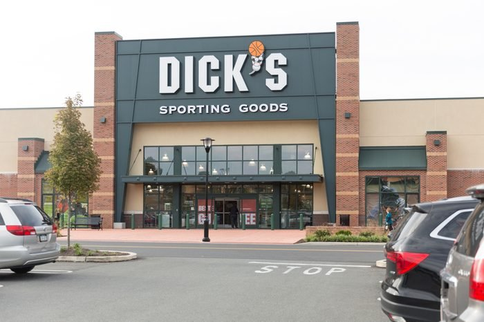 Dick's Sporting Goods in Allentown, PA, USA. September 3, 2017