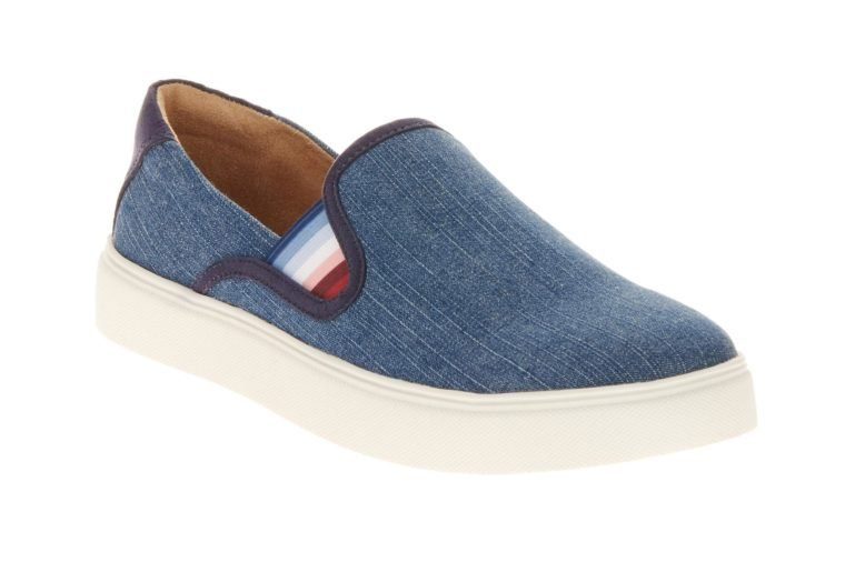 EV1 from Ellen DeGeneres EV1 from Ellen DeGeneres Women's Slip On Canvas Sneaker (Indigo)