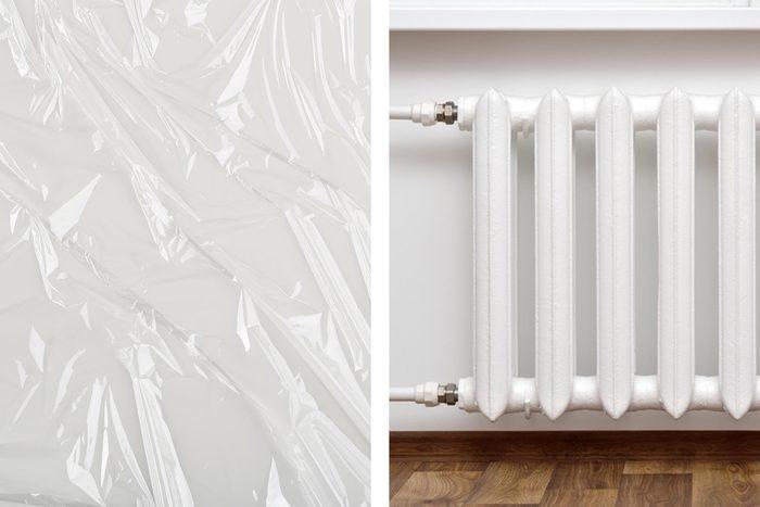 plastic wrap heater