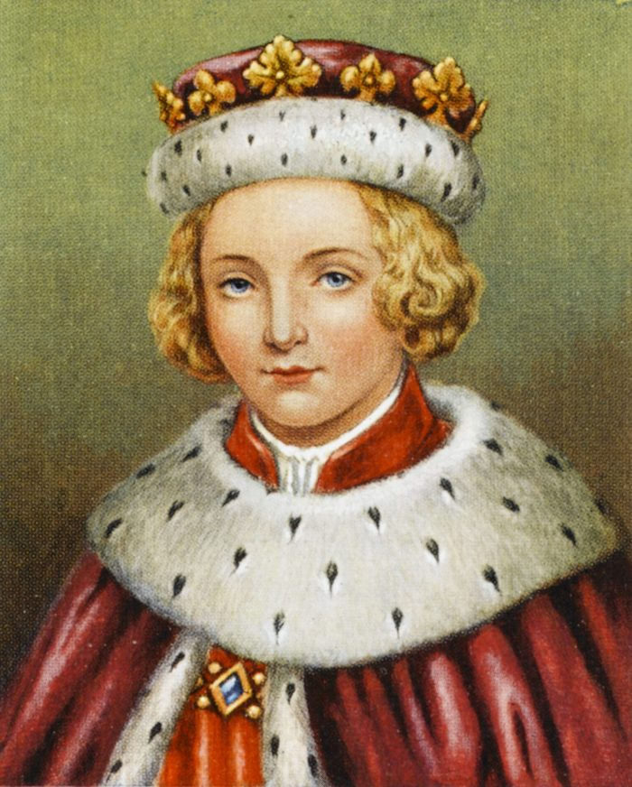 Historical Collection 38 Edward V Reigned From April to June 1483 1470 - 1483