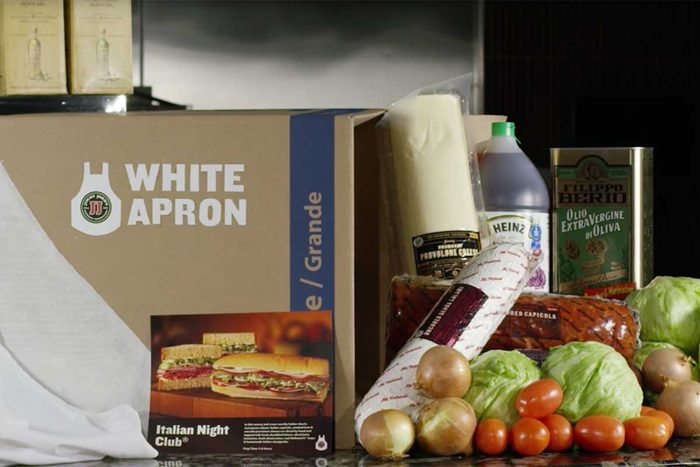 Jimmy John's White Apron subscription box prank