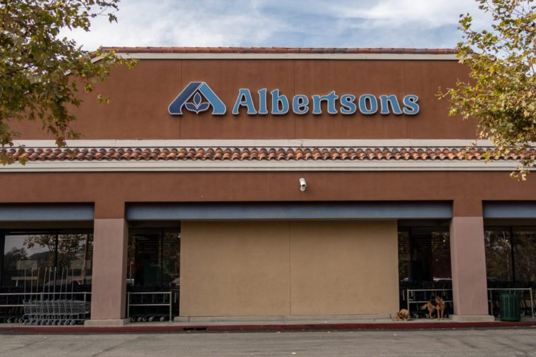 Laguna Niguel, CA / USA - 10/29/2018: Albertsons Grocery Store Location