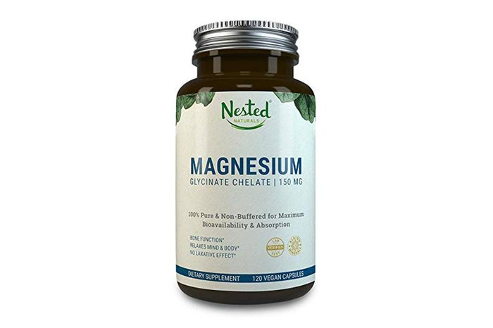 MAGNESIUM GLYCINATE CHELATE 150mg | 120 Non-Laxative, High Absorption Vegan Capsules | Bioavailable Caps For Tension, Muscle Cramps, Stress Relief & Sleep | Non GMO Chelated Bisglycinate...