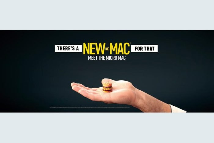 Mcdonalds Micro Mac ad prank