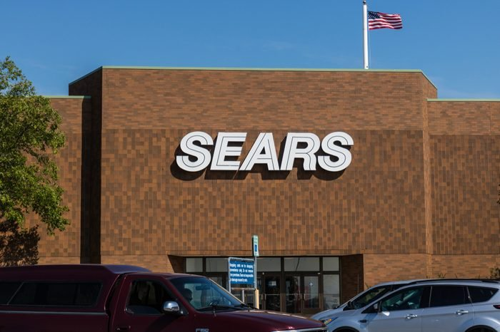 Mishawaka - Circa August 2018: Sears Retail Mall Location. Sears is a Subsidiary of Sears Holdings IV