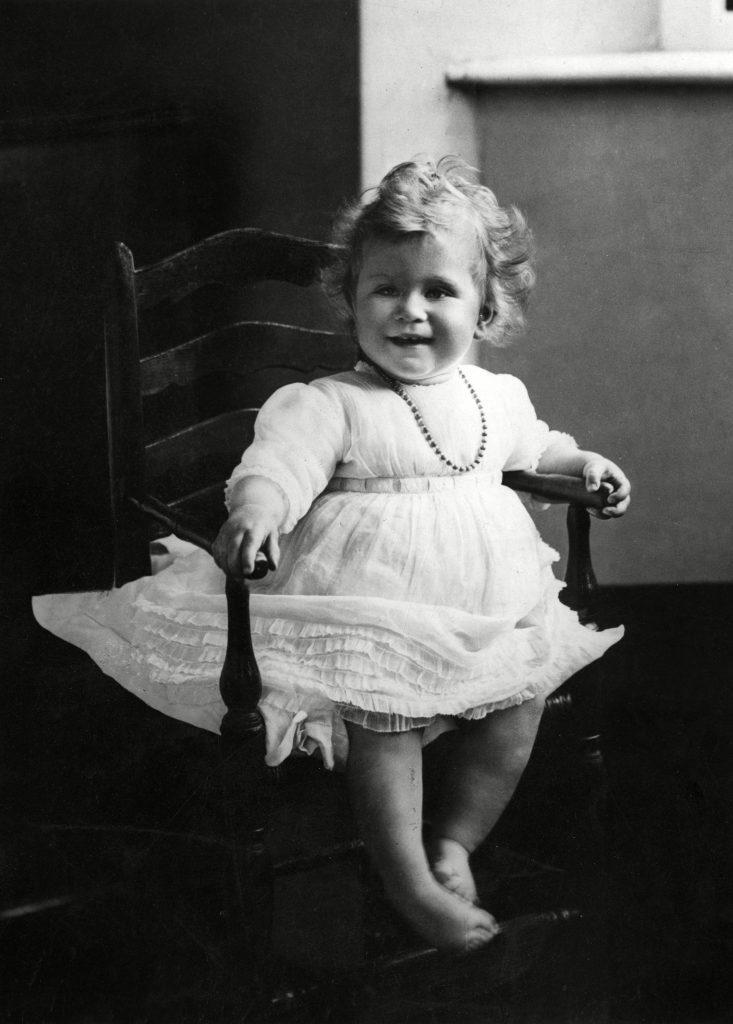 Princess Elizabeth of York Sits in A High Chair - 1 Jun 1927