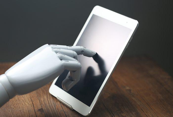 Artificial intelligence manipulator operation tablet PC