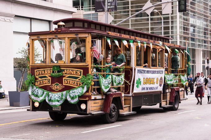 san francisco st patrick's day parade
