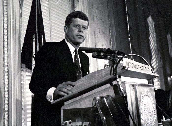 Sen. John F. Kennedy, Washington, USA - 1960