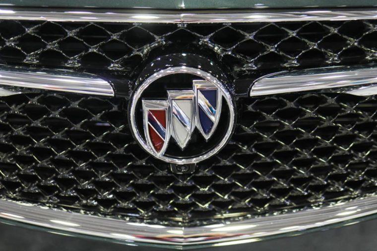 Washington, DC - January 28, 2018: A Buick is on display at the Washington Auto Show.