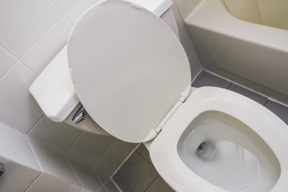 White wc toilet seat hotel clean wellbeing and leisure , clean background style copy paste .