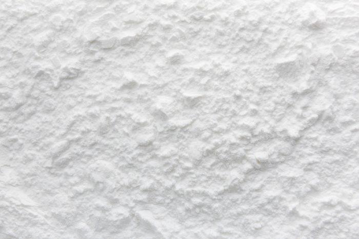 Background of Starch flour powder texture