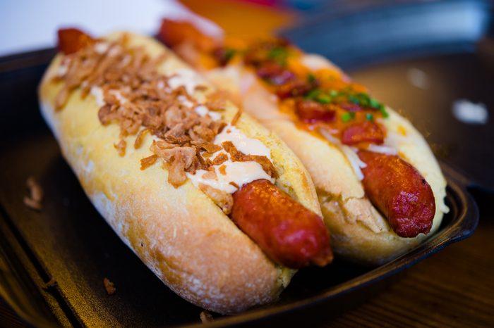 favourite hot dog