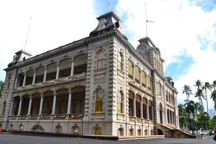 Iolani Palace Honolulu