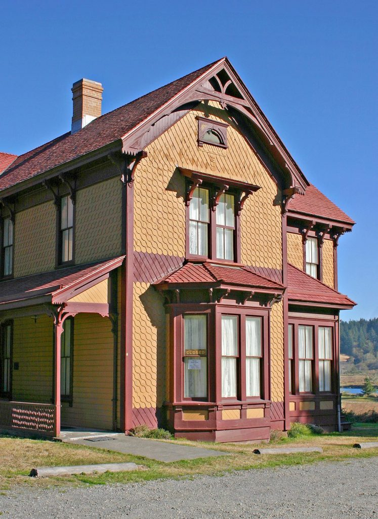 VARIOUS Historic Hughes House in Cape Blanco State Park near Port Orford Oregon.
