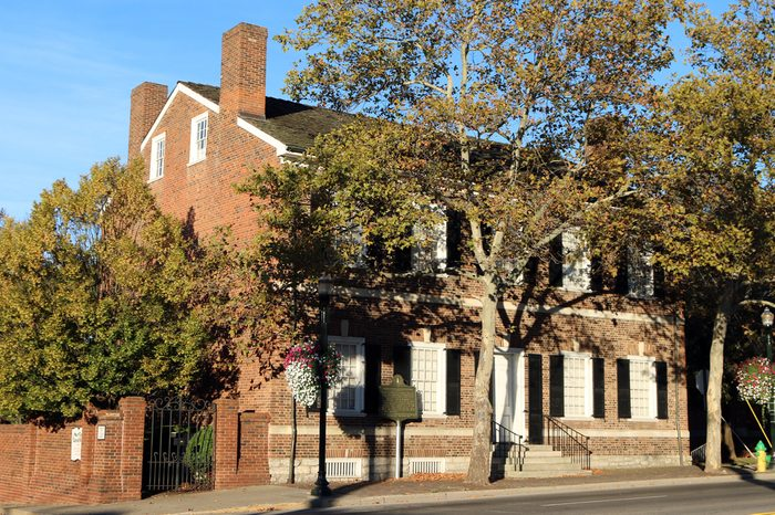 LEXINGTON, KY-OCTOBER, 2015: Mary Todd Lincoln House in Lexington. She lived here for 20 years until she moved to Illinois and married Abraham Lincoln.