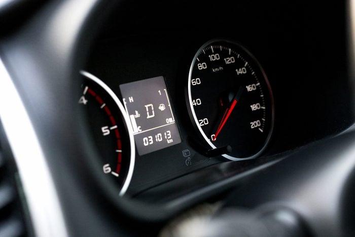 Speedometer - soft focus
