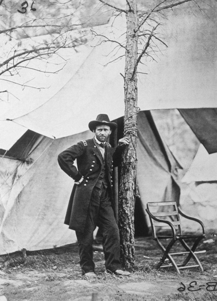 VARIOUS Ulysses Grant After the Battle of Cold Harbor, Virginia, USA, June 1864